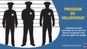 Politia Locala program voluntariat