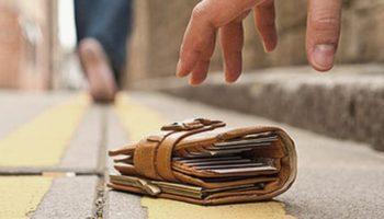 Sprijin real pentru a-şi găsi portmoneul cu acte şi bani