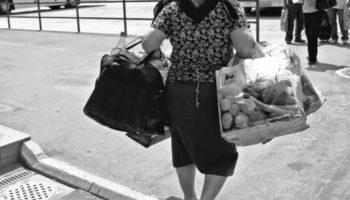 Politştii locali au recuperat o sacoşă furată